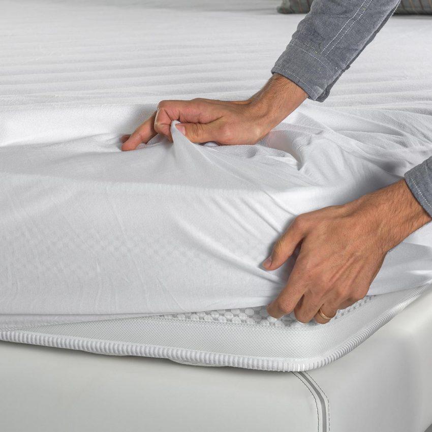 Protetor de colchão de algodão Colunex